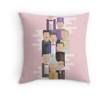 The Grand Budapest Hotel: Character Print Throw Pillow