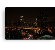 Chicago - City of Lights Canvas Print