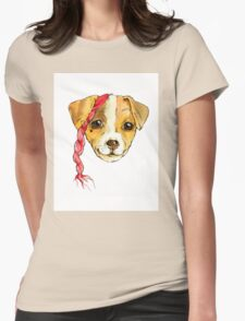 Dog-matic 3 Womens Fitted T-Shirt