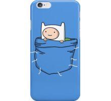 Adventure Time - Pocket Finn iPhone Case/Skin