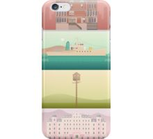 A 'Wes Anderson' Collection Poster Print iPhone Case/Skin