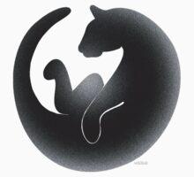 black cat tee Kids Clothes