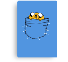 Pocket Jake Canvas Print