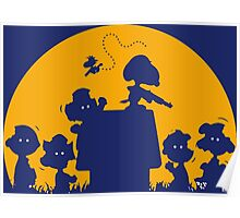 Peanuts Zombie Poster