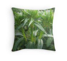 So Green Throw Pillow