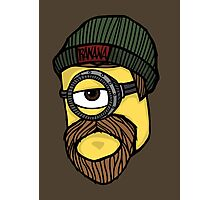 Beard Minion Photographic Print