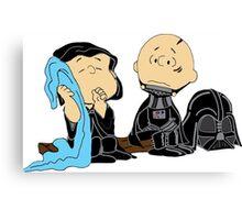 Peanuts Star Wars Canvas Print