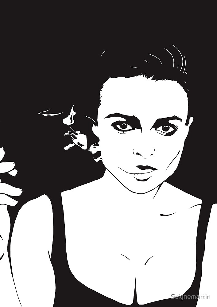 Fight Club - If I did have a tumor, I would name it Marla! by Seignemartin