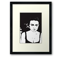 Fight Club - If I did have a tumor, I would name it Marla! Framed Print