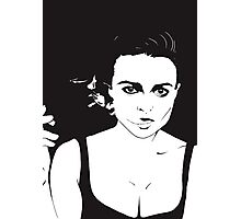 If I did have a tumor, I would name it Marla! Photographic Print