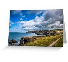 Pembrokeshire Coastal Path Greeting Card