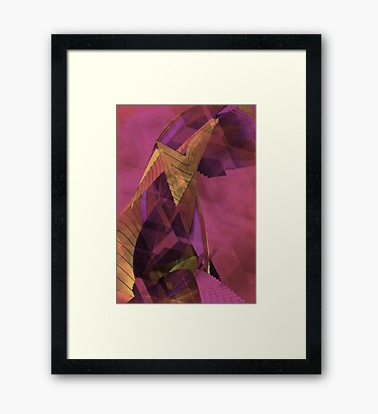 THE SADNESS OF THE PHARAOH Framed Print