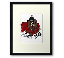 Death Bear Framed Print