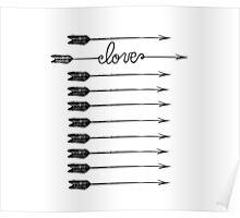 Cupid Arrows Poster