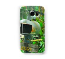 Helicopter Box Samsung Galaxy Case/Skin