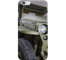 military jeep iPhone Case/Skin