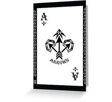 Ace of Clubs Card - Hylian Court Legend of Zelda Greeting Card