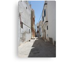 tunisia street of the old Canvas Print
