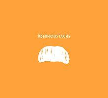 Ubermoustache (orange) by jackmobius