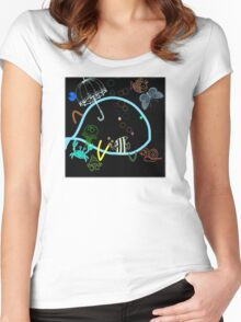 cool sketch 11 Women's Fitted Scoop T-Shirt