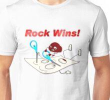 Rock Wins! Unisex T-Shirt