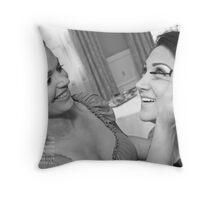 Margaret astor Throw Pillow