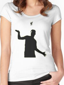 Daniel Sturridge (Black) Women's Fitted Scoop T-Shirt