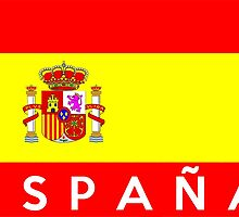 flag of Spain by tony4urban