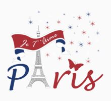 Paris Je T'Aime Kids Clothes