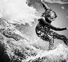 untitled (Surfers III) by Daniel  Rarela
