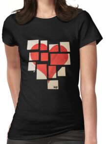 Della's Heart Womens Fitted T-Shirt