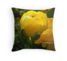 Shocking Yellow Throw Pillow