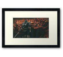 Gwyn. Lord of Cinder Framed Print