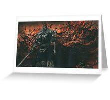 Gwyn. Lord of Cinder Greeting Card