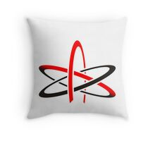 Never trust an atom They make up everything Throw Pillow