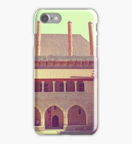 Palácio Duques de Bragança. The Palace of the Dukes of Braganza iPhone Case/Skin