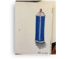 aerosol  Canvas Print