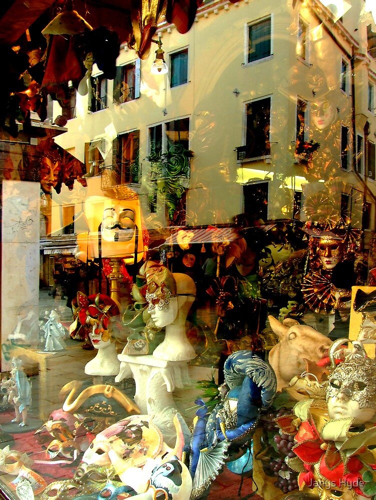 The Mask Shop by Janys Hyde
