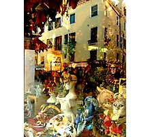 The Mask Shop Photographic Print
