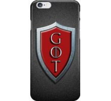 G.O.T iPhone Case/Skin