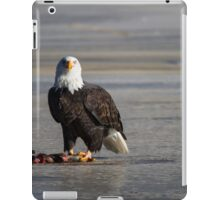 I see you wild bald eagle iPad Case/Skin