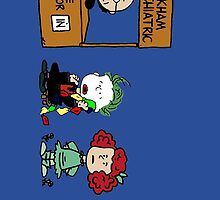 Batman Peanuts by Patritius