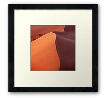 Dune in the dusk Framed Print