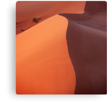 Dune in the dusk Canvas Print