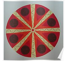 Australian Aboriginal Mandala Poster