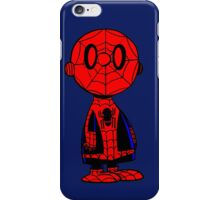 Charlie Brown Spiederman iPhone Case/Skin