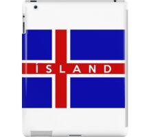 ísland iPad Case/Skin