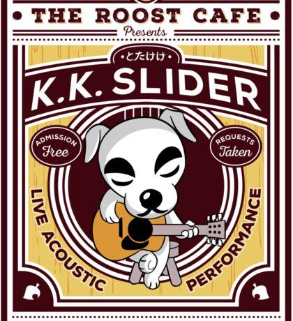K.K. Slider Gig Poster Sticker