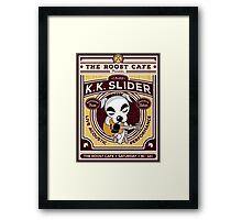 K.K. Slider Gig Poster Framed Print