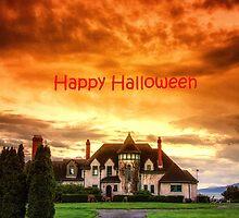 Happy Halloween Castle  by Eti Reid